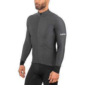 Giro Chrono LS Thermal Maillot de cyclisme Homme, charcoal